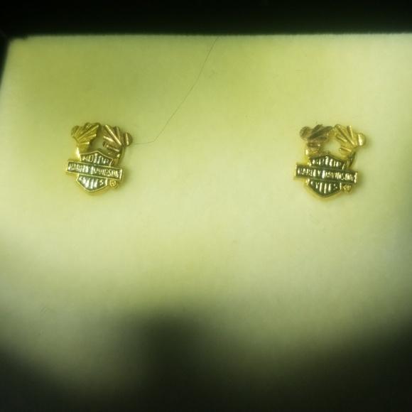 a7b3c73d7 Harley-Davidson Jewelry | Harley Davidson Black Hills Gold Stud ...